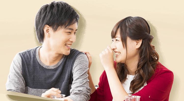 ホームパーティー婚活の会話イメージ